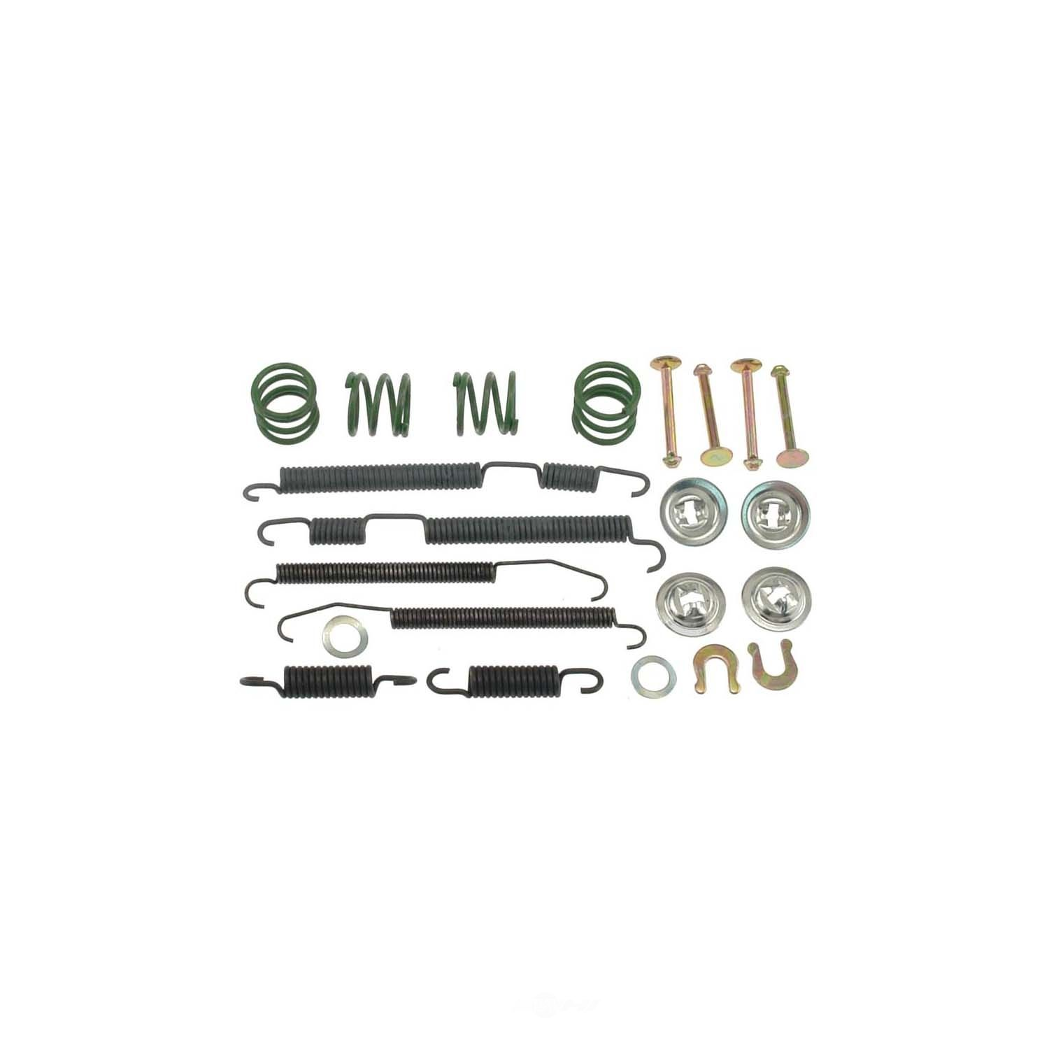 CARLSON QUALITY BRAKE PARTS - Drum Brake Hardware Kit (Rear) - CRL 17327