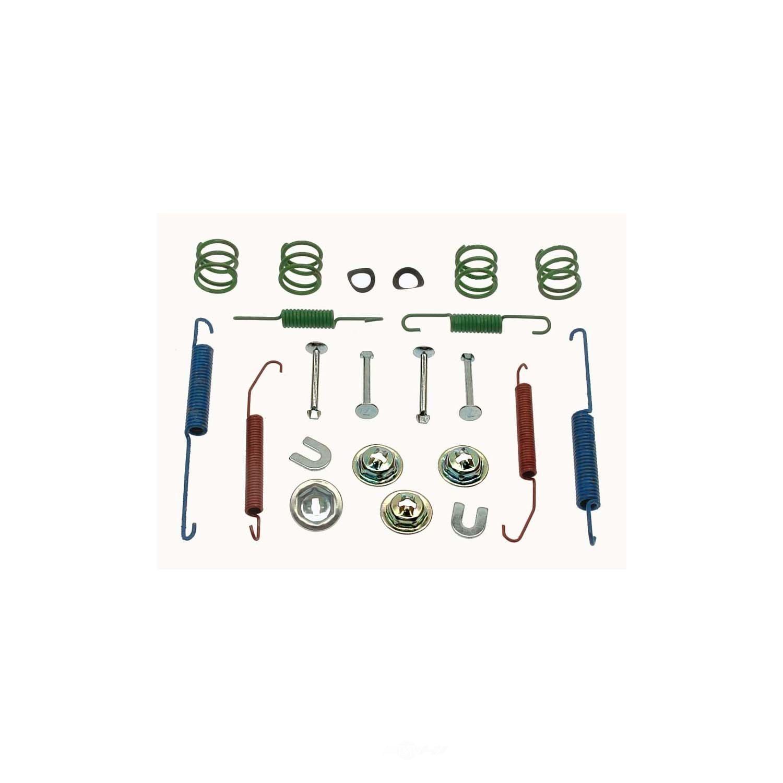 CARLSON QUALITY BRAKE PARTS - Drum Brake Hardware Kit (Rear) - CRL 17333
