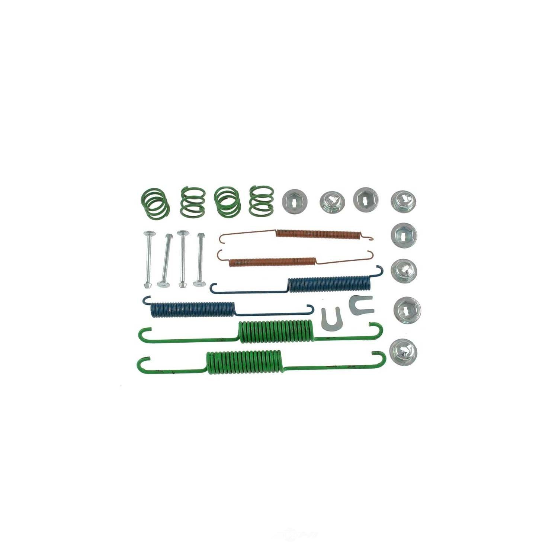CARLSON QUALITY BRAKE PARTS - Drum Brake Hardware Kit (Rear) - CRL 17334