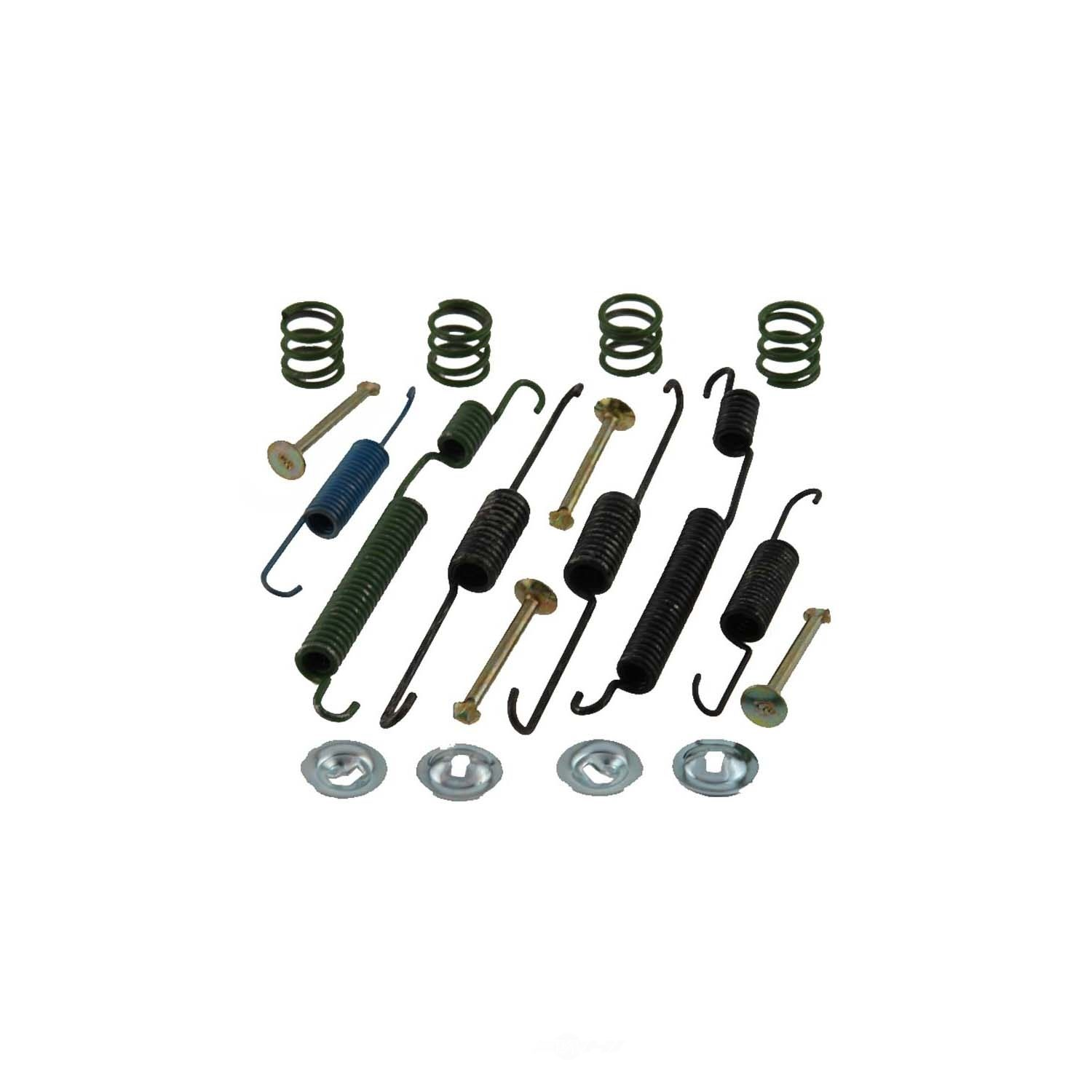 CARLSON QUALITY BRAKE PARTS - Drum Brake Hardware Kit (Rear) - CRL 17340