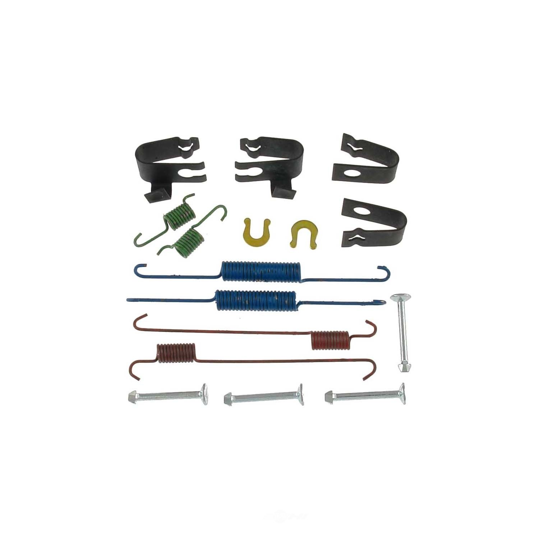 CARLSON QUALITY BRAKE PARTS - Drum Brake Hardware Kit (Rear) - CRL 17341