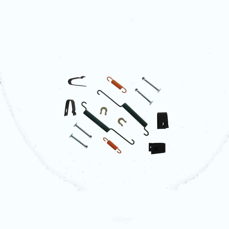 CARLSON QUALITY BRAKE PARTS - Drum Brake Hardware Kit (Rear) - CRL 17351