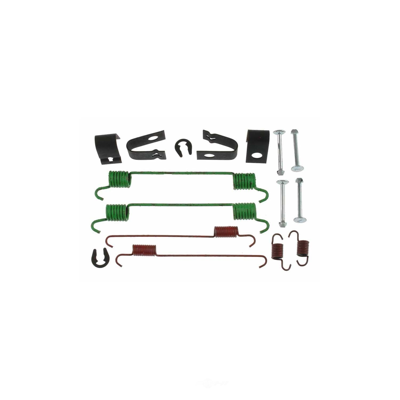CARLSON QUALITY BRAKE PARTS - Drum Brake Hardware Kit (Rear) - CRL 17355