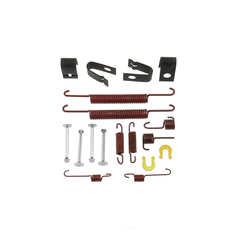 CARLSON QUALITY BRAKE PARTS - Drum Brake Hardware Kit (Rear) - CRL 17359