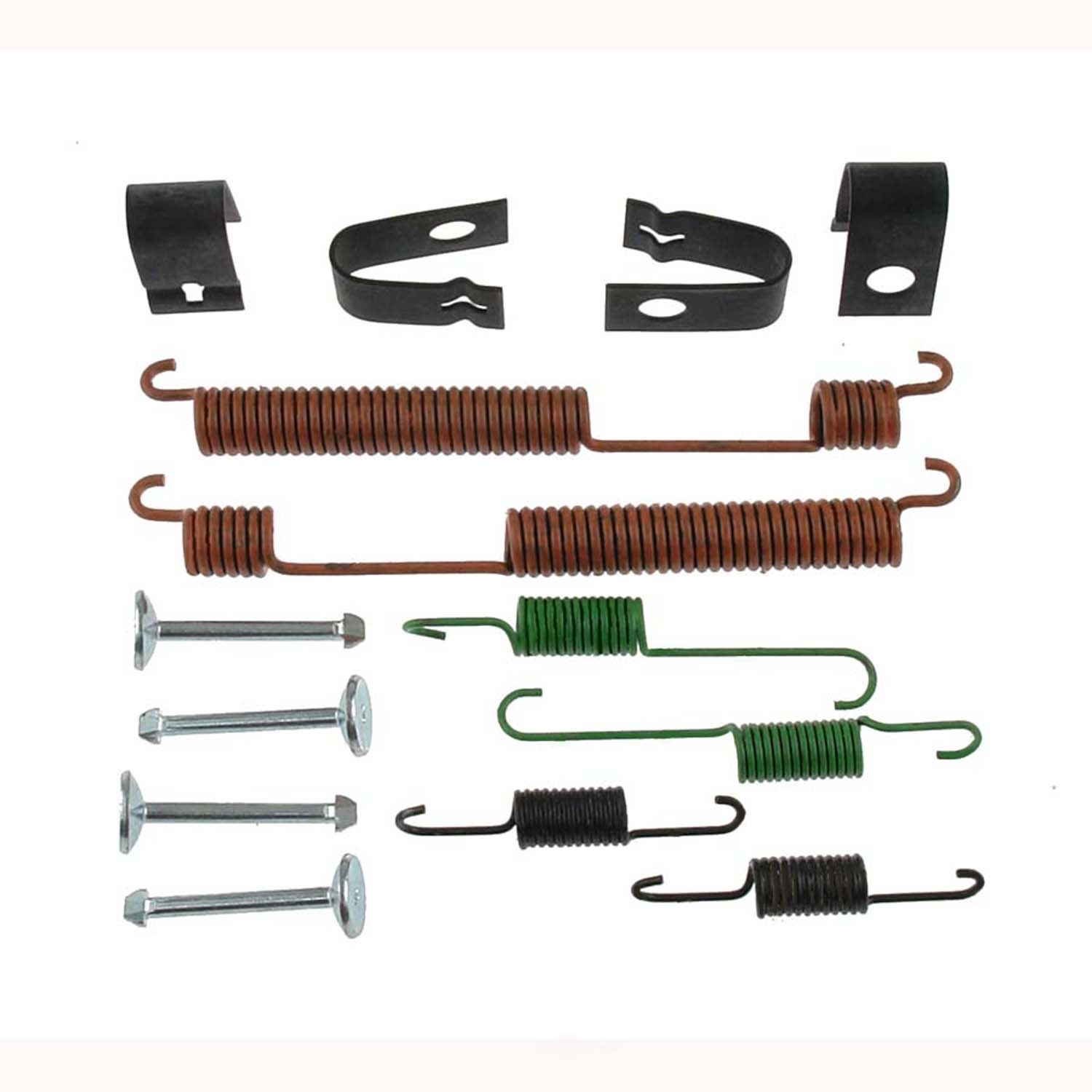 CARLSON QUALITY BRAKE PARTS - Drum Brake Hardware Kit (Rear) - CRL 17362
