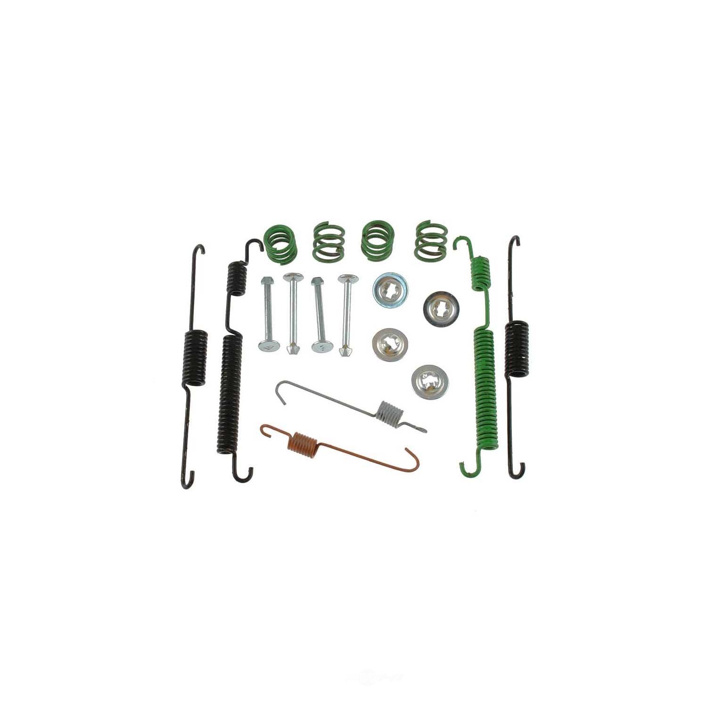 CARLSON QUALITY BRAKE PARTS - Drum Brake Hardware Kit (Rear) - CRL 17366