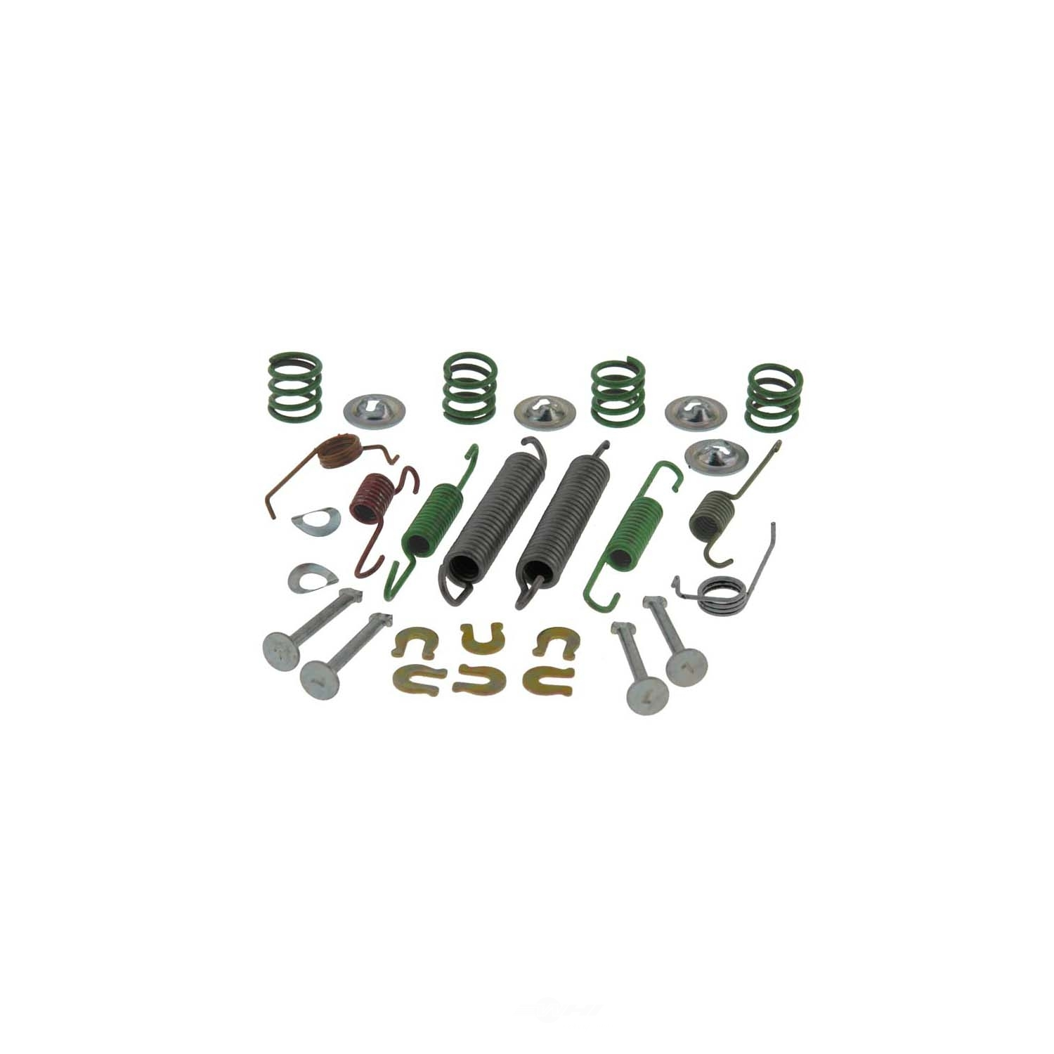 CARLSON QUALITY BRAKE PARTS - Drum Brake Hardware Kit (Rear) - CRL 17367