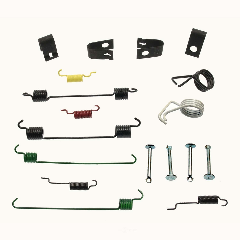 CARLSON QUALITY BRAKE PARTS - Drum Brake Hardware Kit (Rear) - CRL 17370