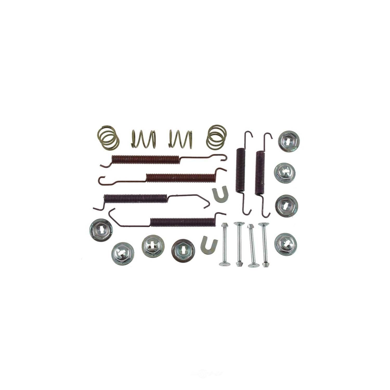 CARLSON QUALITY BRAKE PARTS - Drum Brake Hardware Kit (Rear) - CRL 17373