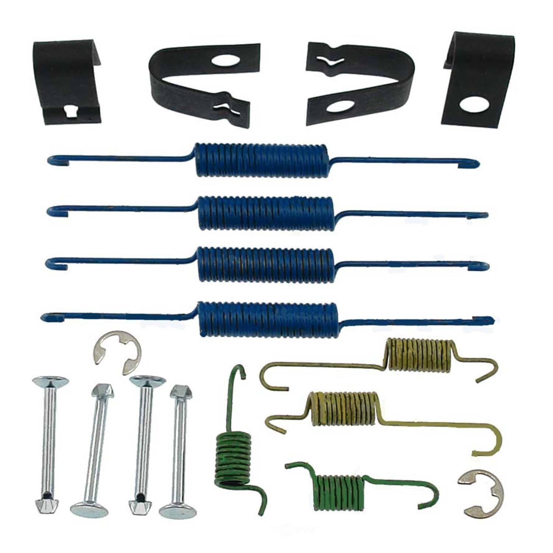 CARLSON QUALITY BRAKE PARTS - Drum Brake Hardware Kit (Rear) - CRL 17376