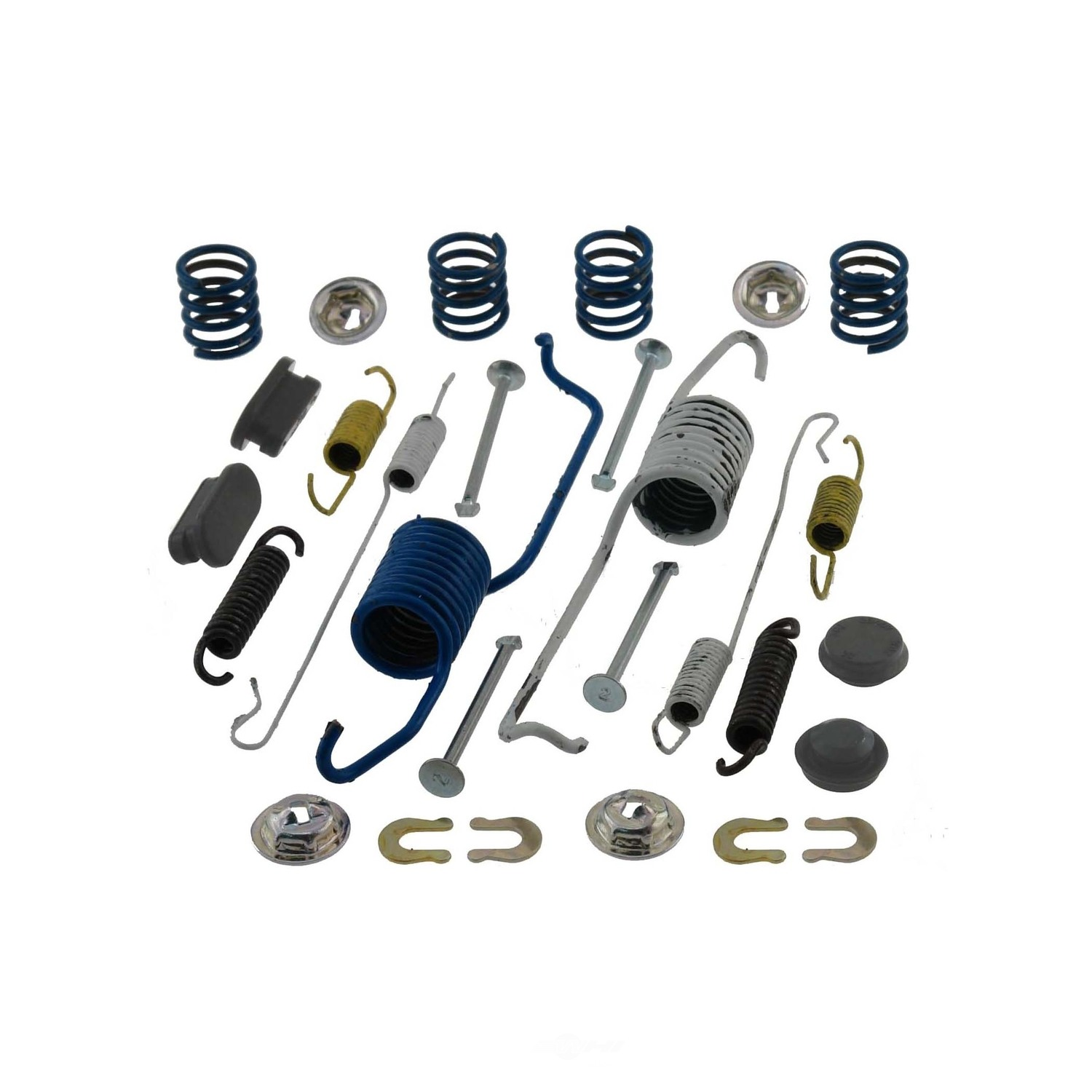 CARLSON QUALITY BRAKE PARTS - Drum Brake Hardware Kit (Rear) - CRL 17386