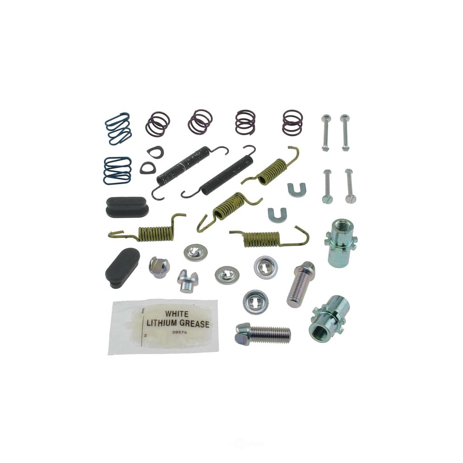 CARLSON QUALITY BRAKE PARTS - Parking Brake Hardware Kit (Rear) - CRL 17388