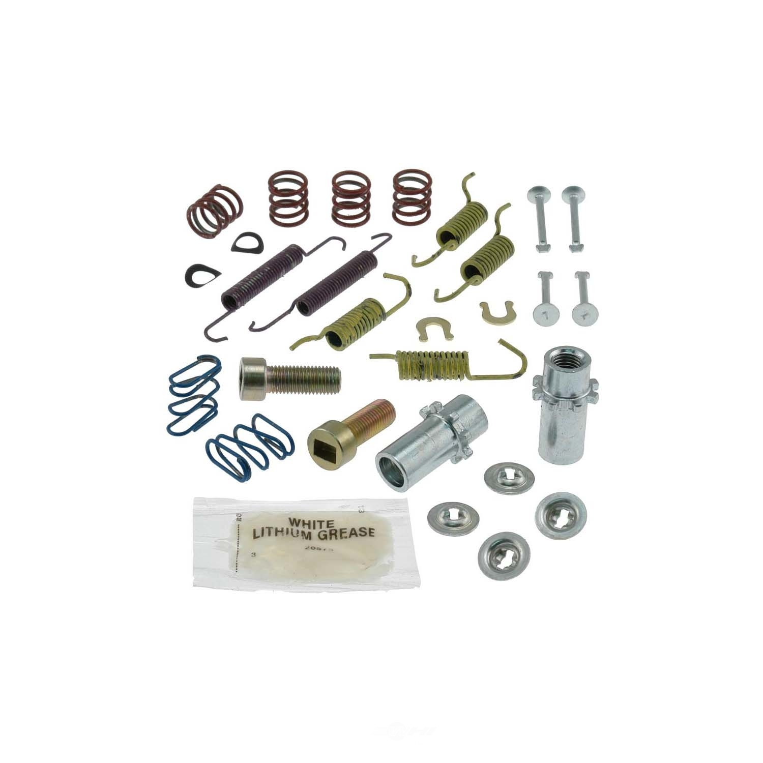 CARLSON QUALITY BRAKE PARTS - Parking Brake Hardware Kit (Rear) - CRL 17389