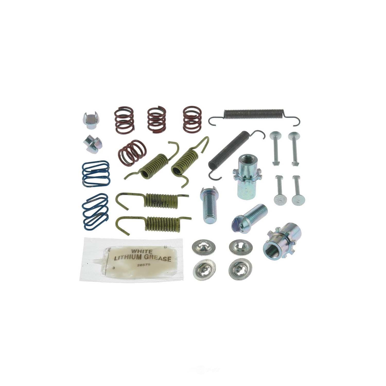 CARLSON QUALITY BRAKE PARTS - Parking Brake Hardware Kit (Rear) - CRL 17391