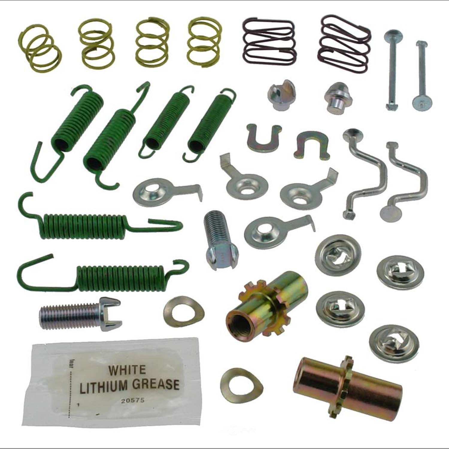 CARLSON QUALITY BRAKE PARTS - Parking Brake Hardware Kit (Rear) - CRL 17393