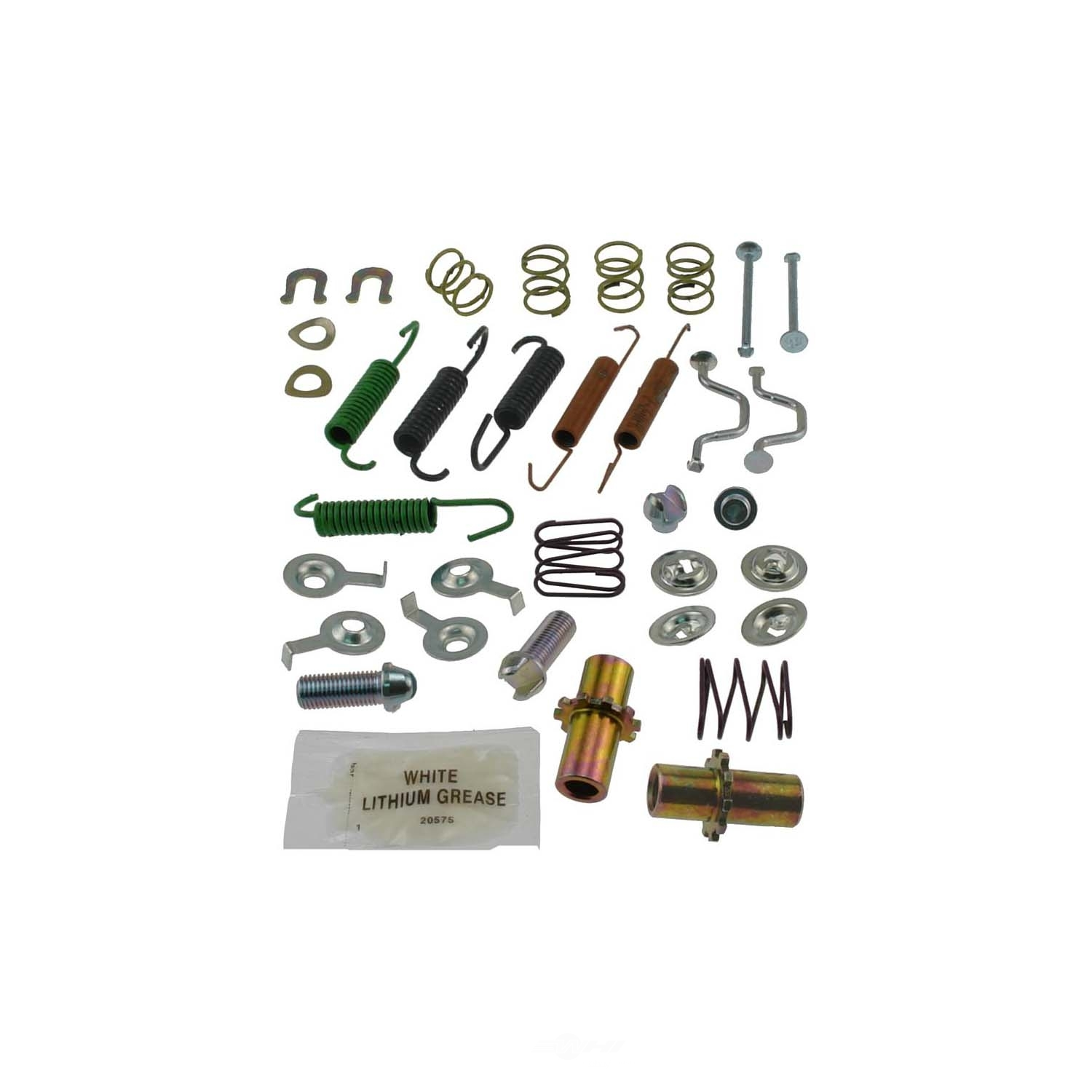 CARLSON QUALITY BRAKE PARTS - Parking Brake Hardware Kit (Rear) - CRL 17395