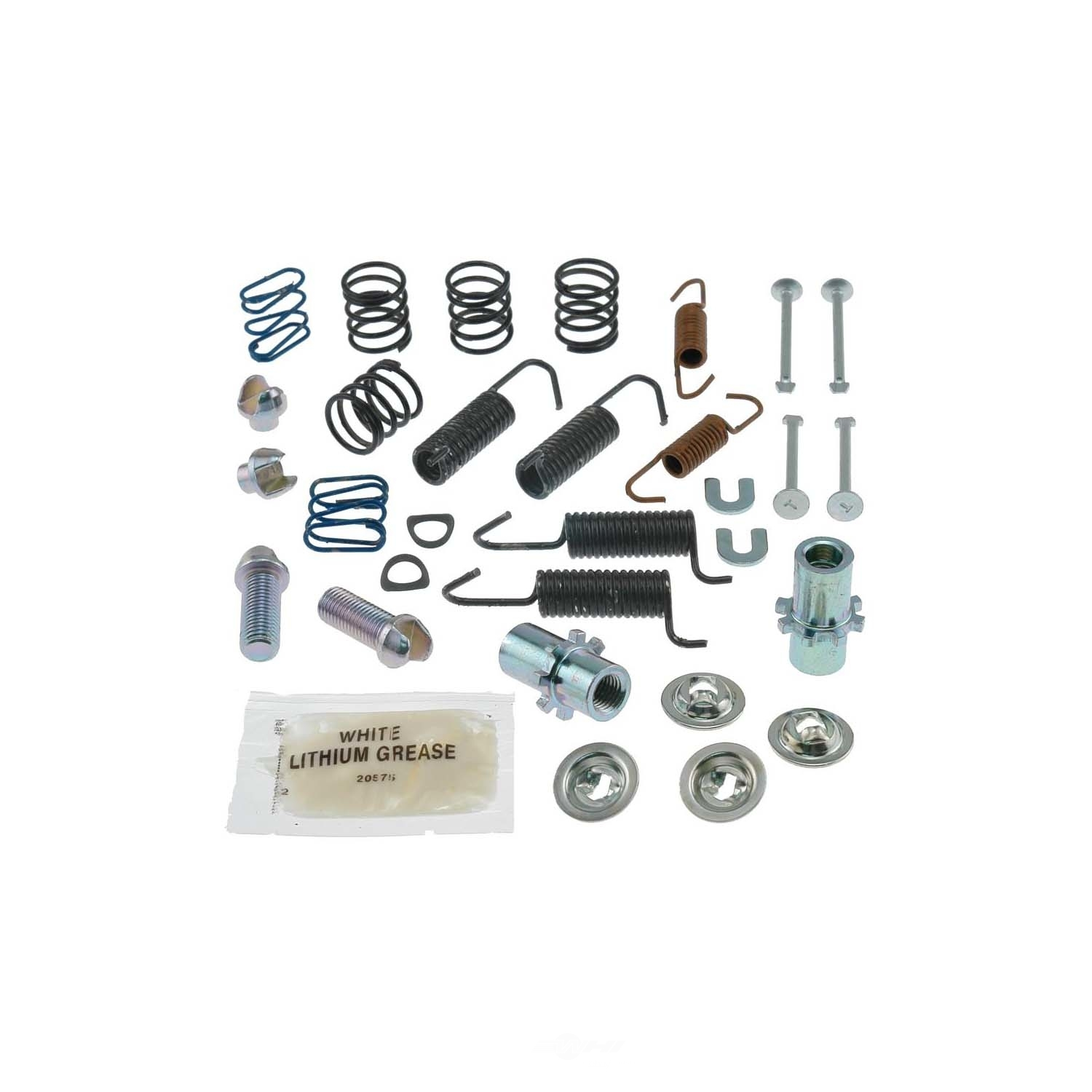 CARLSON QUALITY BRAKE PARTS - Parking Brake Hardware Kit (Rear) - CRL 17396