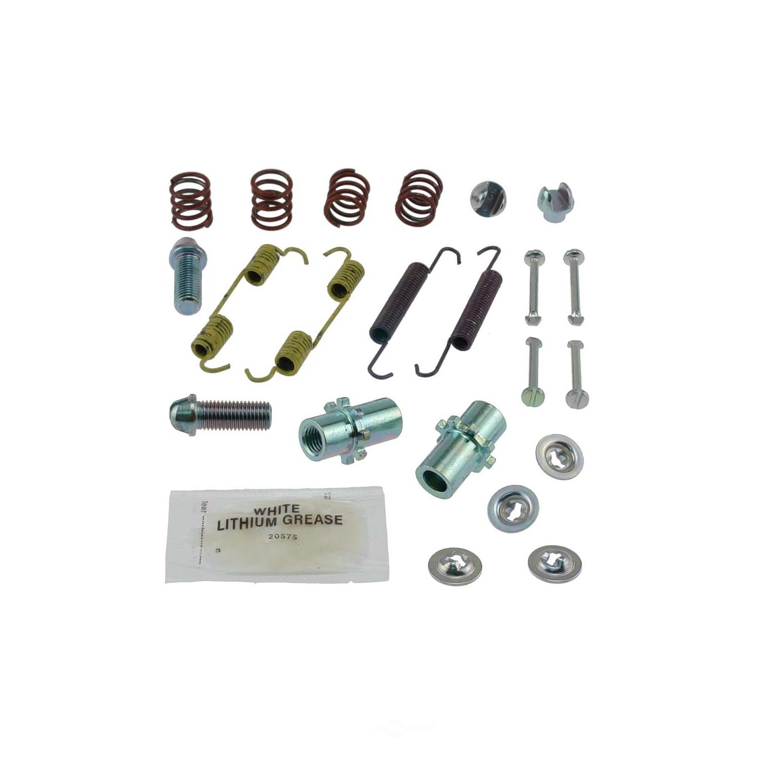CARLSON QUALITY BRAKE PARTS - Parking Brake Hardware Kit (Rear) - CRL 17400