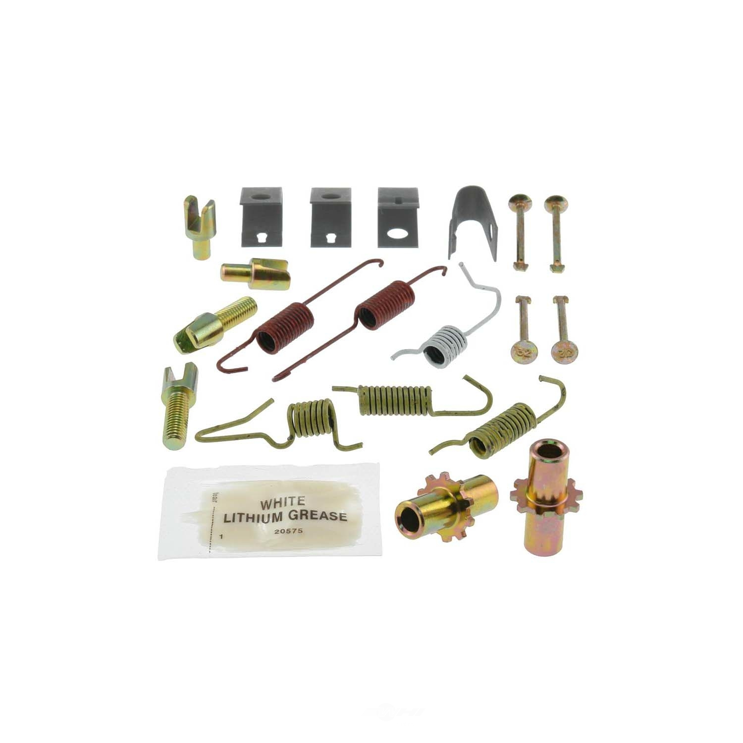 CARLSON QUALITY BRAKE PARTS - Parking Brake Hardware Kit (Rear) - CRL 17402