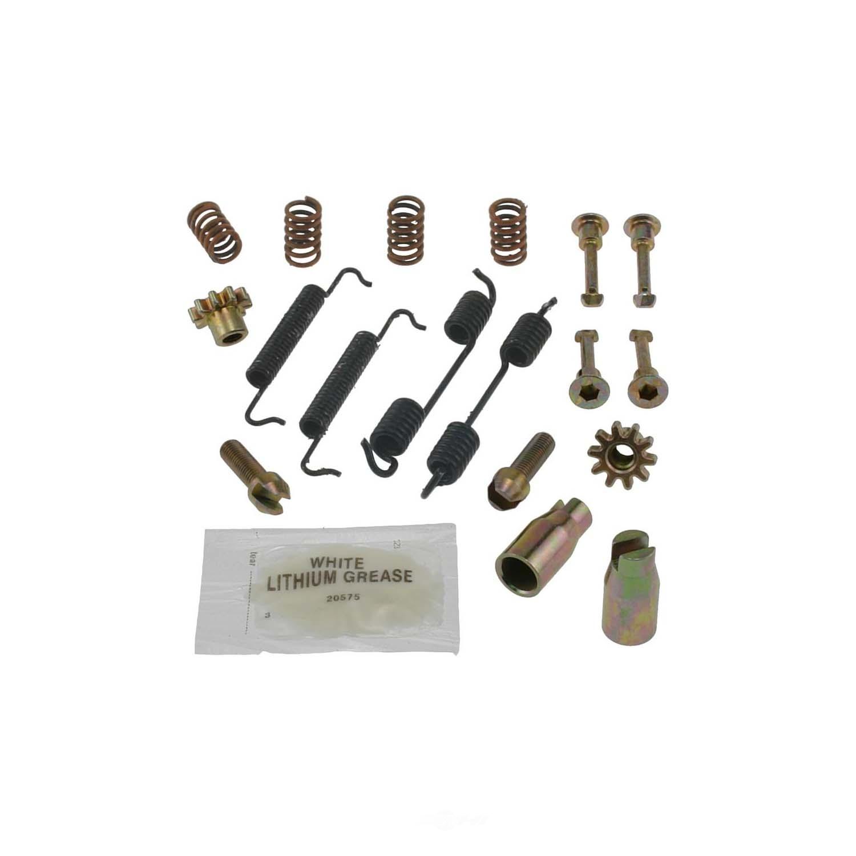CARLSON QUALITY BRAKE PARTS - Parking Brake Hardware Kit - CRL 17422