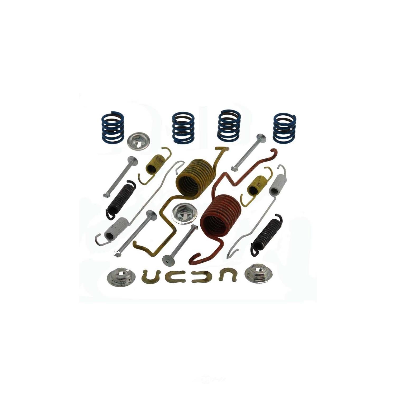 CARLSON QUALITY BRAKE PARTS - Drum Brake Hardware Kit (Rear) - CRL 17432
