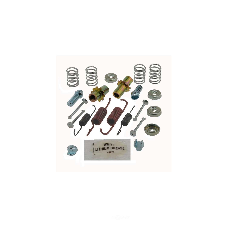 CARLSON QUALITY BRAKE PARTS - Parking Brake Hardware Kit - CRL 17443