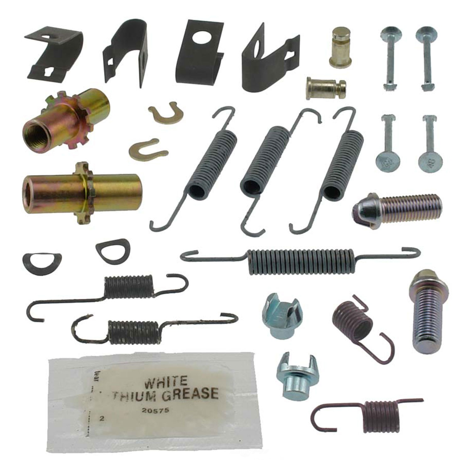 CARLSON QUALITY BRAKE PARTS - Parking Brake Hardware Kit - CRL 17447