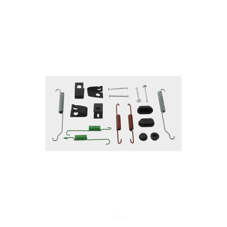 CARLSON QUALITY BRAKE PARTS - Drum Brake Hardware Kit (Rear) - CRL 17465