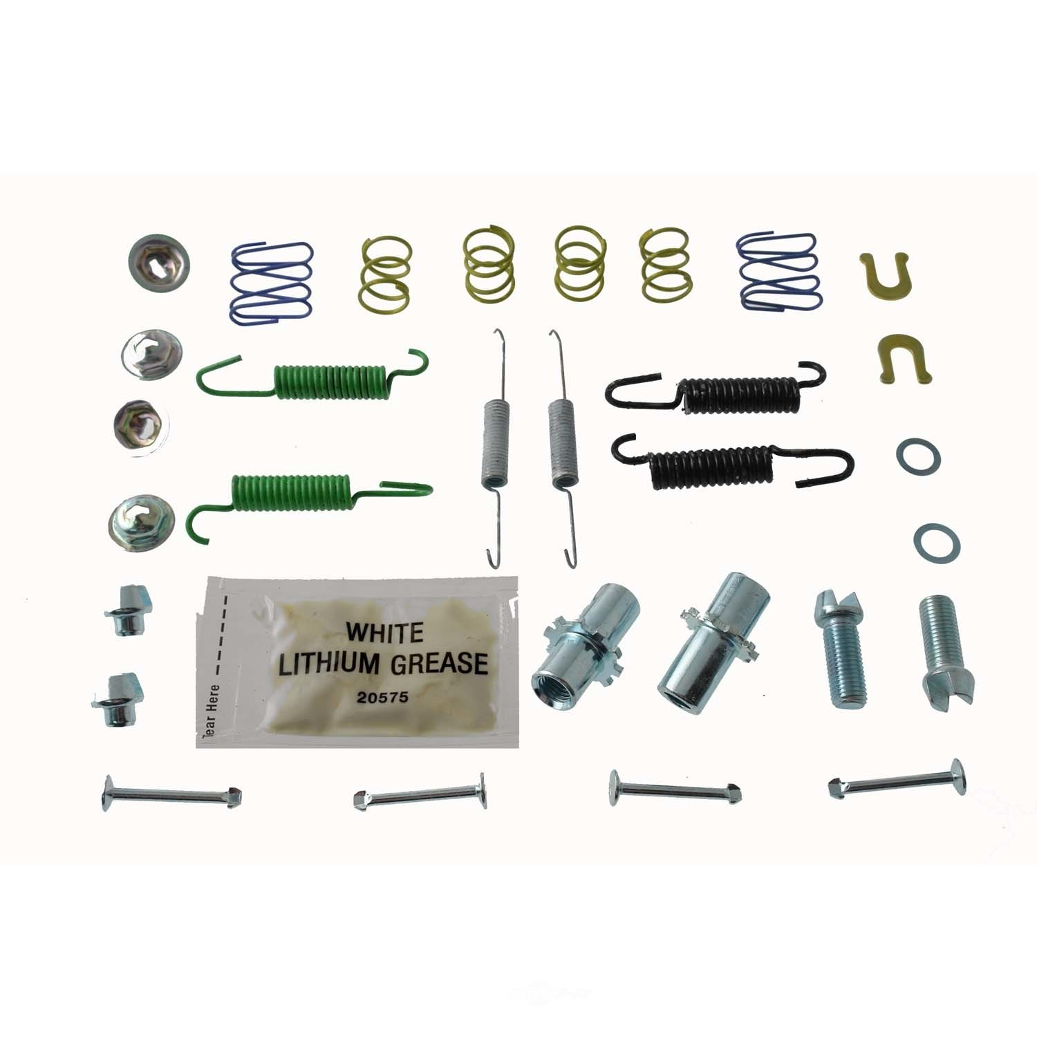 CARLSON QUALITY BRAKE PARTS - Parking Brake Hardware Kit - CRL 17472