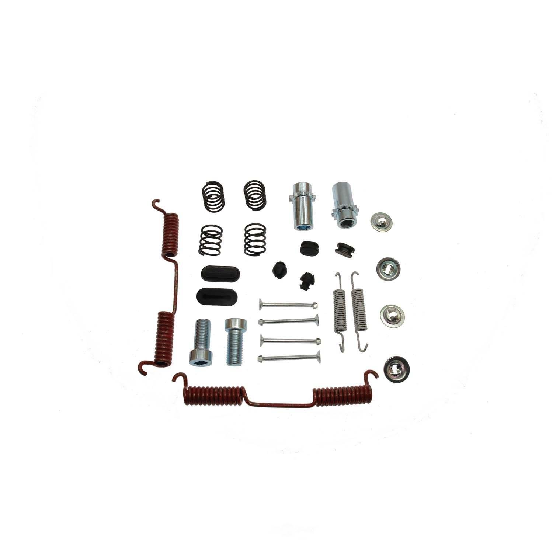 CARLSON QUALITY BRAKE PARTS - Parking Brake Hardware Kit (Rear) - CRL 17473