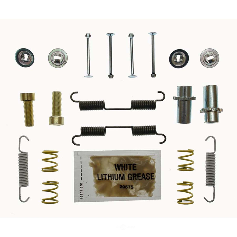 CARLSON QUALITY BRAKE PARTS - Parking Brake Hardware Kit (Rear) - CRL 17487