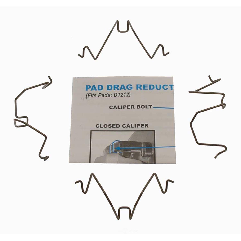 CARLSON QUALITY BRAKE PARTS - Disc Brake Pad Drag Reduction Clip (Rear) - CRL 18316
