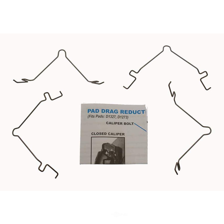 CARLSON QUALITY BRAKE PARTS - Disc Brake Pad Drag Reduction Clip - CRL 18324