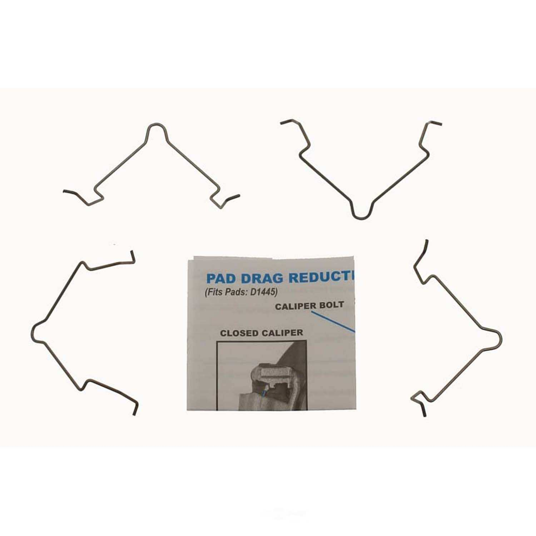 CARLSON QUALITY BRAKE PARTS - Disc Brake Pad Drag Reduction Clip (Rear) - CRL 18327