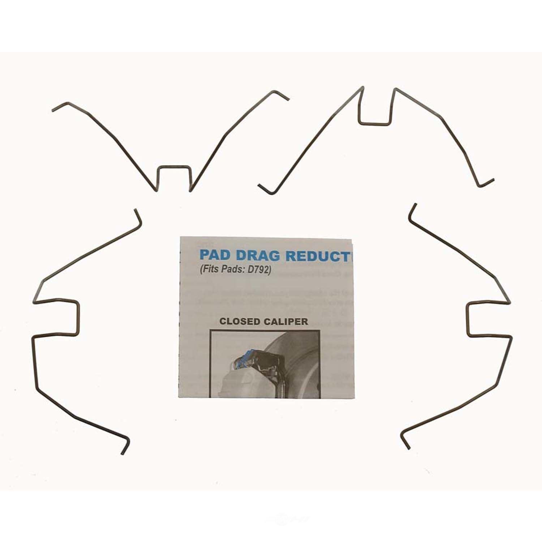 CARLSON QUALITY BRAKE PARTS - Disc Brake Pad Drag Reduction Clip (Rear) - CRL 18352