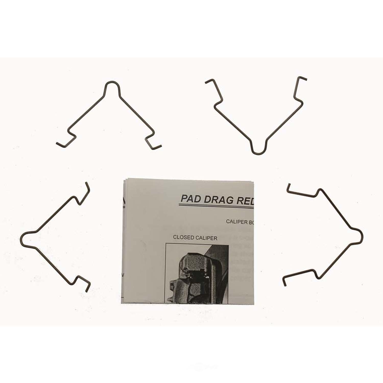 CARLSON QUALITY BRAKE PARTS - Disc Brake Pad Drag Reduction Clip (Rear) - CRL 18354