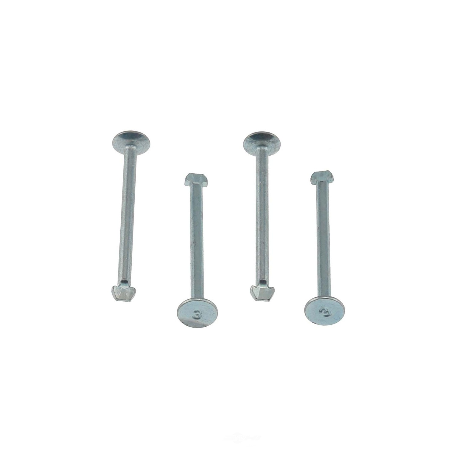 CARLSON QUALITY BRAKE PARTS - Brake Spring Hold Down Pin (Rear) - CRL H1104-2