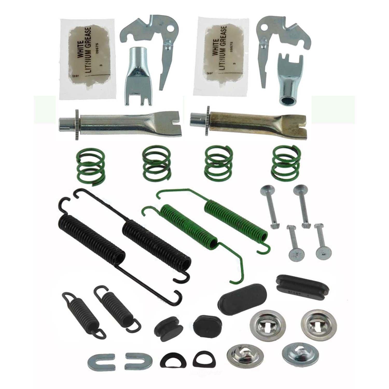 CARLSON QUALITY BRAKE PARTS - Pro Drum Brake Hardware Kit (Rear) - CRL H2341