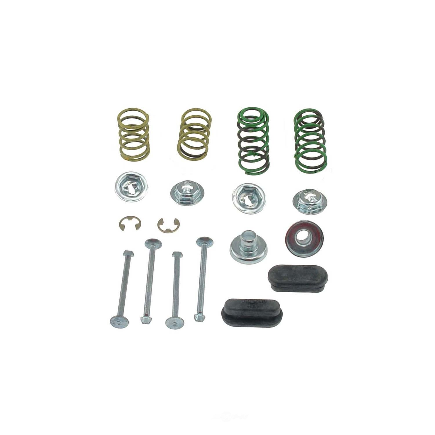 CARLSON QUALITY BRAKE PARTS - Brake Shoes Hold Down Kit (Rear) - CRL H4019-2