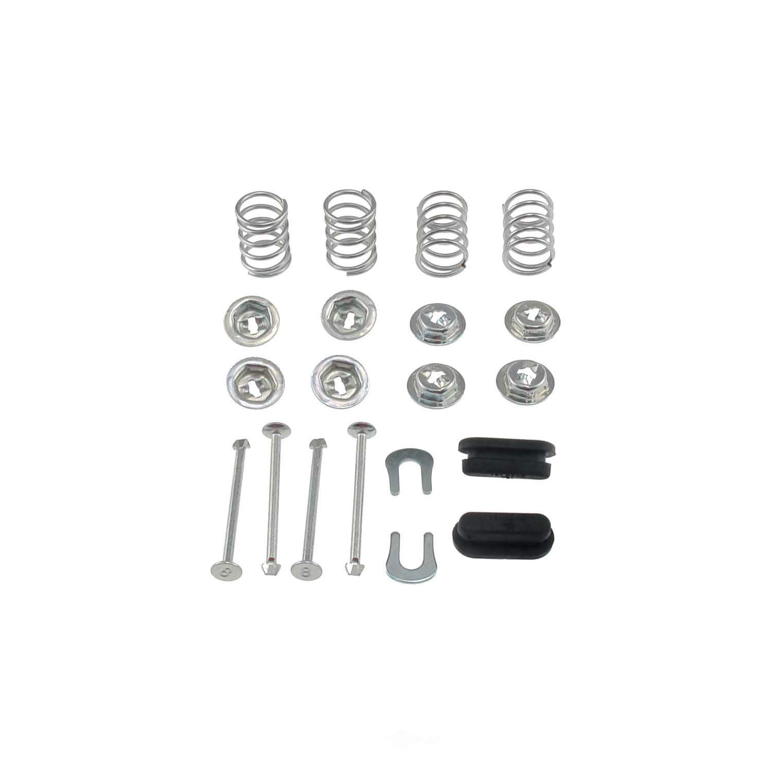CARLSON QUALITY BRAKE PARTS - Brake Shoes Hold Down Kit - CRL H4049-2