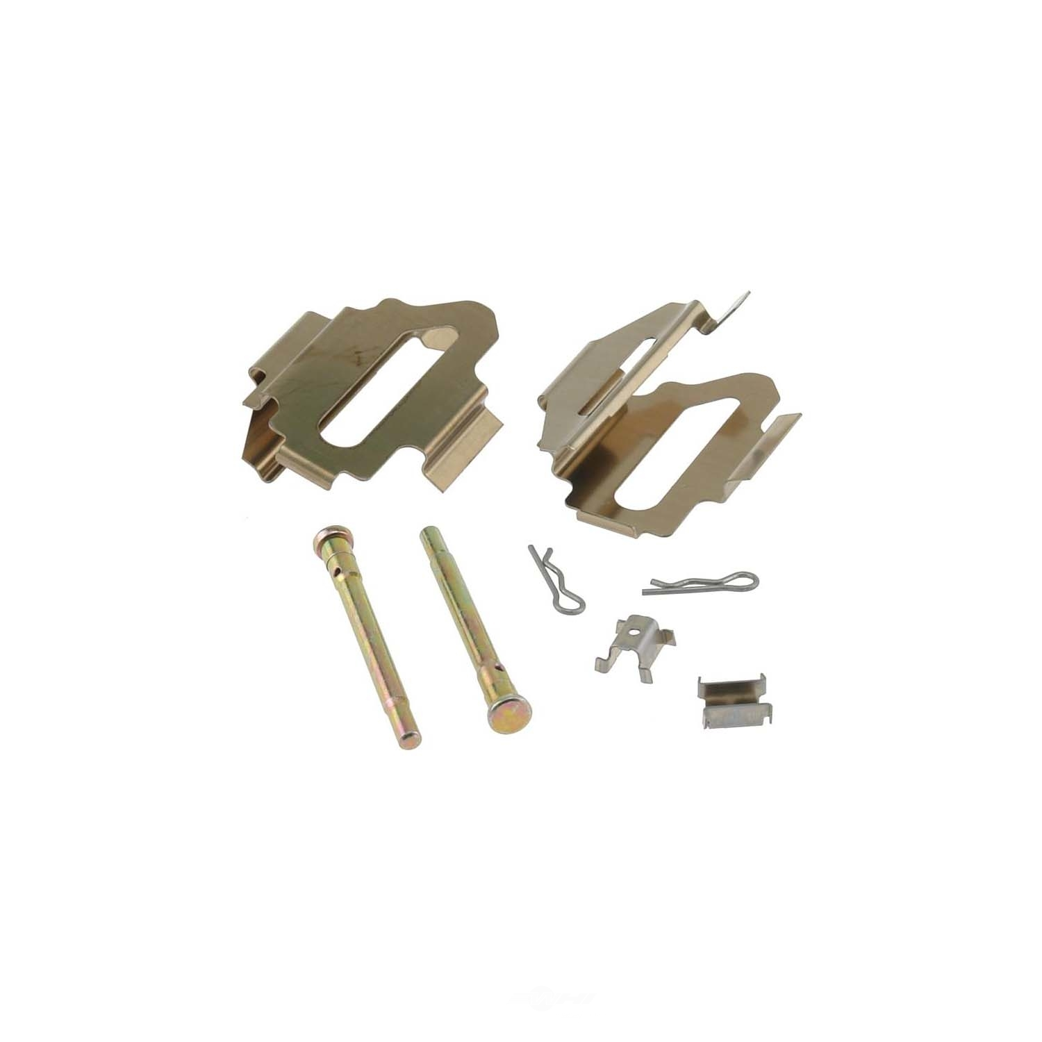 CARLSON QUALITY BRAKE PARTS - Disc Brake Hardware Kit (Rear) - CRL H5638