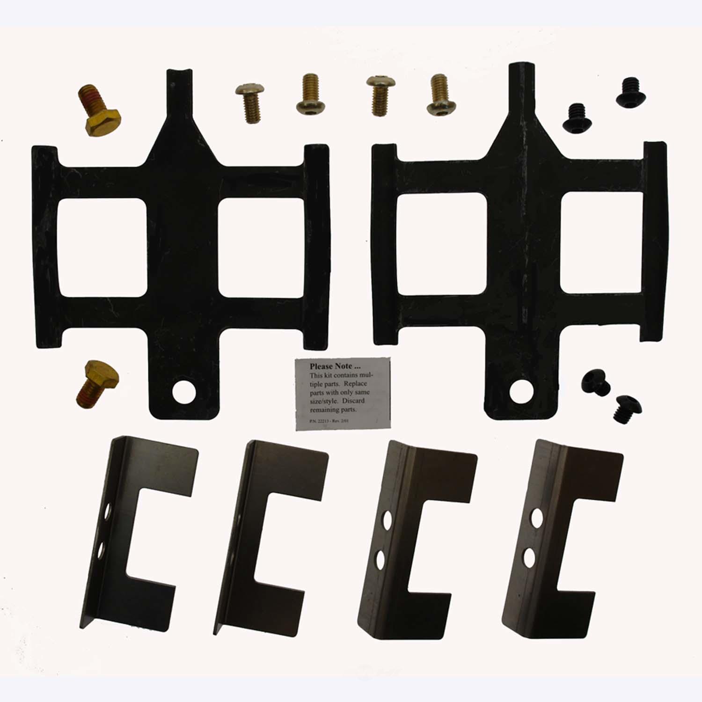 CARLSON QUALITY BRAKE PARTS - Disc Brake Hardware Kit (Front) - CRL H5671