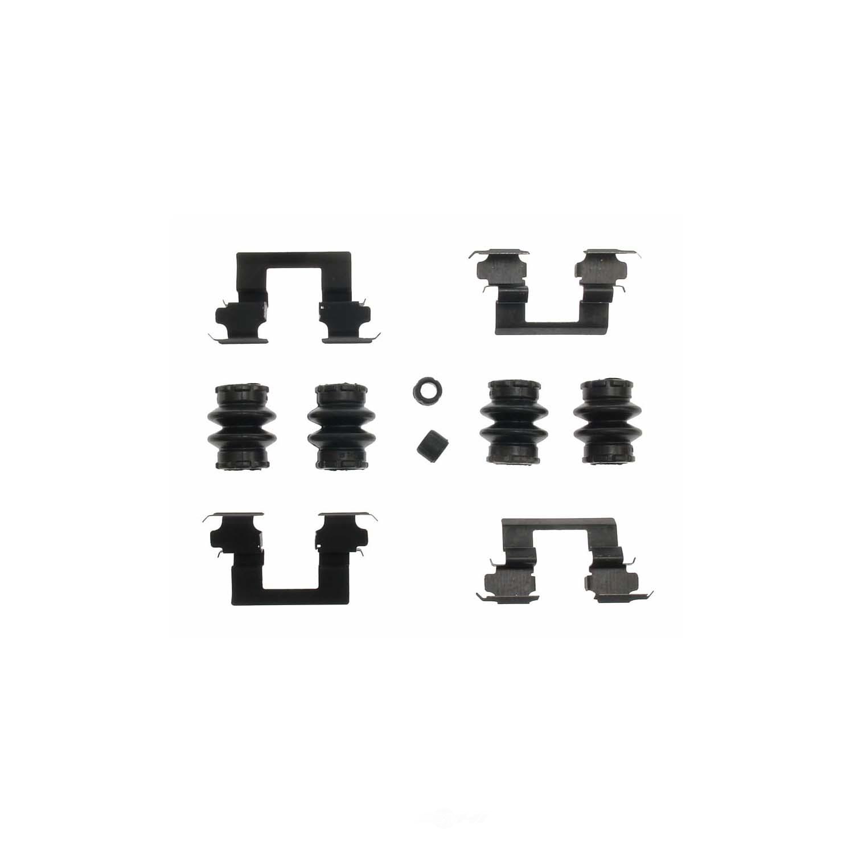 CARLSON QUALITY BRAKE PARTS - Disc Brake Hardware Kit (Rear) - CRL H5758Q