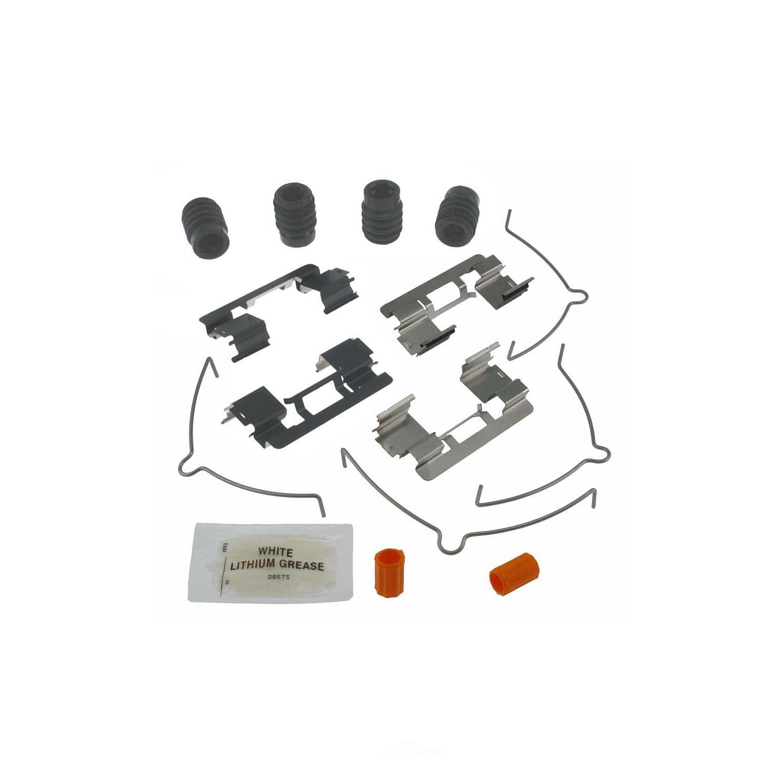 CARLSON QUALITY BRAKE PARTS - Disc Brake Hardware Kit (Front) - CRL H5795Q