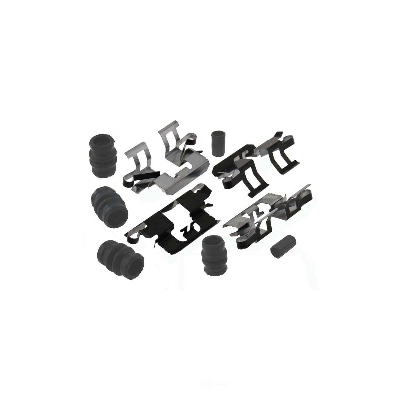 CARLSON QUALITY BRAKE PARTS - Disc Brake Hardware Kit (Rear) - CRL H5810Q