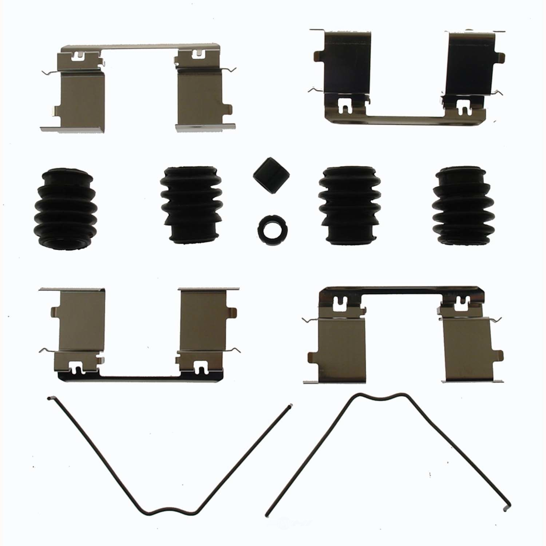 CARLSON QUALITY BRAKE PARTS - Disc Brake Hardware Kit (Front) - CRL H5915
