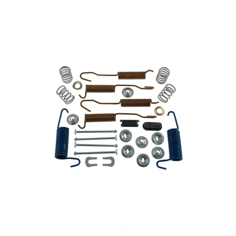 CARLSON QUALITY BRAKE PARTS - All In One Drum Brake Hardware Kit - CRL H7116