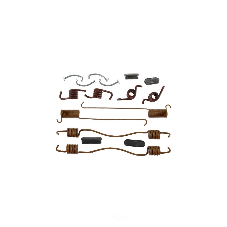 CARLSON QUALITY BRAKE PARTS - All In One Drum Brake Hardware Kit (Rear) - CRL H7199