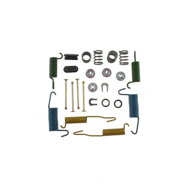 CARLSON QUALITY BRAKE PARTS - Drum Brake Hardware Kit (Rear) - CRL H7224