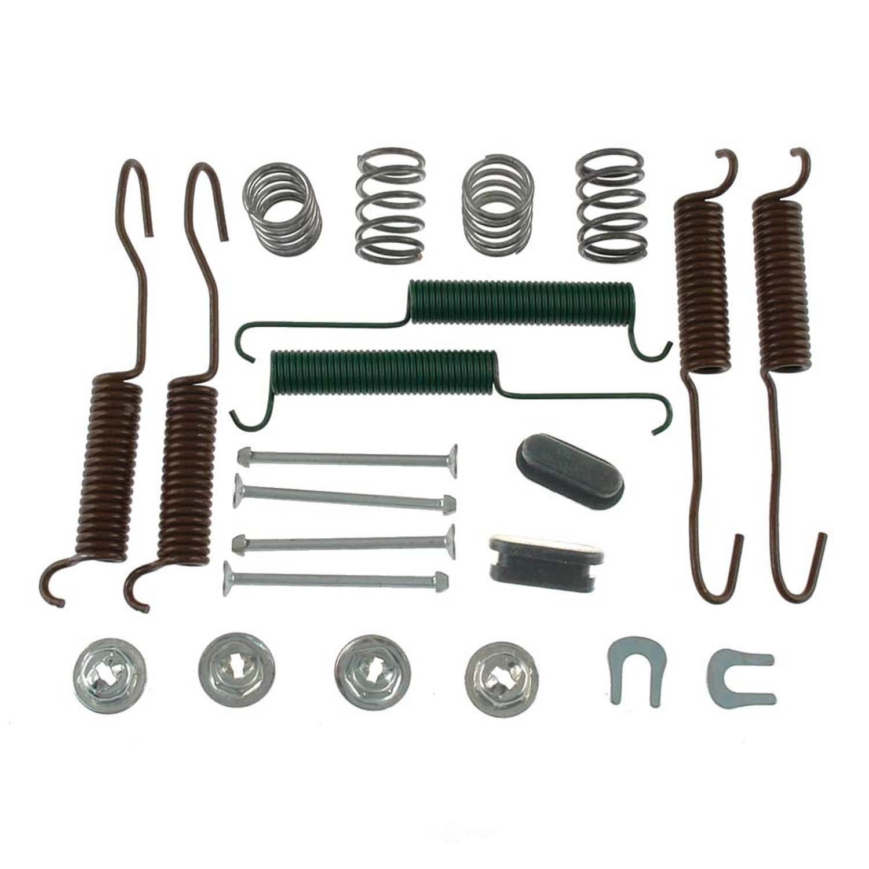 CARLSON QUALITY BRAKE PARTS - Drum Brake Hardware Kit (Rear) - CRL H7250